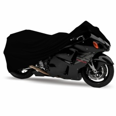 Mantroll Cover Motor Khusus Kawasaki Ninja 1000 / Pelindung Motor Mantroll Original / Jas Motor Berkualitas / Sarung Motor Original / Mantel Penutup motor  - Hitam Garang