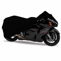 Mantroll Cover Motor Khusus Kawasaki Ninja R / Pelindung Motor Mantroll Original / Jas Motor Berkualitas / Sarung Motor Original / Mantel Penutup motor - Hitam Garang