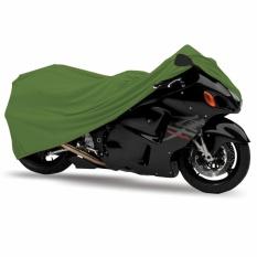 Mantroll Cover Motor Khusus Kawasaki Ninja RR / Mantel Motor Berkualitas / Sarung Motor Original Mantroll / Jas motor / Selimut Pelindung Motor- Hijau Army