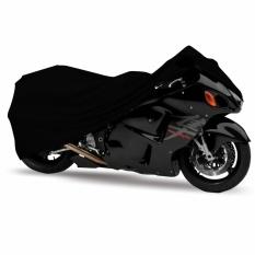 Mantroll Cover Motor Khusus Kawasaki Ninja RR / Mantel Motor Berkualitas / Sarung Motor Original Mantroll / Jas motor / Selimut Pelindung Motor - Hitam Garang