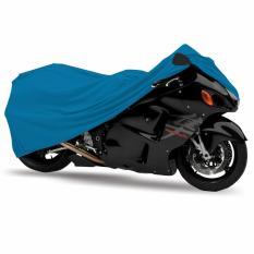 Mantroll Cover Motor Khusus Kawasaki Ninja RR Mono / Mantel Motor Berkualitas / Sarung Motor Original Mantroll / Jas motor / Selimut Pelindung Motor - biru tosca