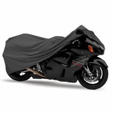 Mantroll Cover Motor Khusus Kawasaki Ninja ZX-6R / Mantel Motor Berkualitas / Sarung Motor Original Mantroll / Jas motor / Selimut Pelindung Motor - Abu Gelap