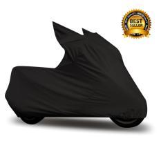 Mantroll Cover Motor Khusus Vespa GTS Super / Mantel Motor Berkualitas / Sarung Motor Original Mantroll / Jas motor / Selimut Pelindung Motor - Hitam Garang