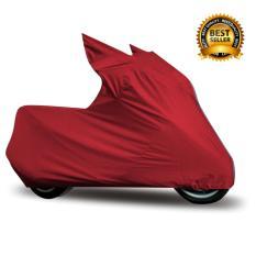 Mantroll Cover Motor Khusus Vespa LX125 / Mantel Motor Berkualitas / Sarung Motor Original Mantroll / Jas motor / Selimut Pelindung Motor - Merah Cabai