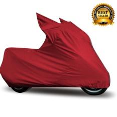 Mantroll Cover Motor Khusus Vespa S 3V / Mantel Motor Berkualitas / Sarung Motor Original Mantroll / Jas motor / Selimut Pelindung Motor - Merah Cabai