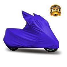 Ulasan Lengkap Tentang Mantroll Cover Motor Khusus Yamaha Scorpio Biru Metalic