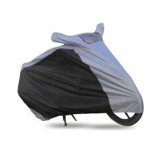 Beli Mantroll Cover Motor Special Kombinasi Abu Hitam Ukuran L Yang Bagus