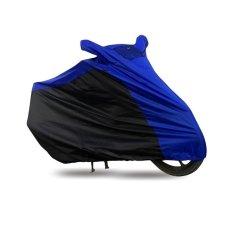 Harga Mantroll Cover Motor Special Kombinasi Ukuran L Biru Htam Branded