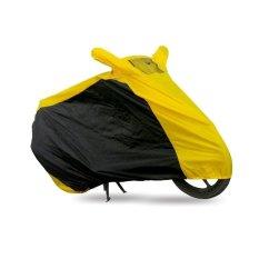 Harga Mantroll Cover Motor Special Kombinasi Ukuran L Kuning Hitam Merk Mantroll
