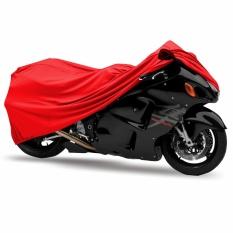 Mantroll Cover Motor Yamaha YZF R 15 / Pelindung Motor Mantroll Original / Jas Motor Berkualitas / Sarung Motor Original / Mantel Penutup motor  - Merah Cabai
