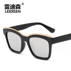 Produsen Jual High-definition Pria dan Wanita dengan Samecolor Film. Logam. Alis. Kacamata Hitam. Polarized Sunglasses-Intl
