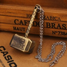 Marionshop Thor Hammer Necklace Avengers Dark World Mjolnir Pendant Perhiasan Aksesoris Pernikahan-Intl