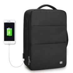 Markryden Baru Kapasitas Besar Anti-Air USB Desain Ransel Laptop 17 Inches 5-7 Hari Perjalanan Singkat Perjalanan Tas- internasional