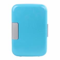 Martine 2017 Multi-Fungsi 4 Liter Kulkas Mobil Mini Portable dan DC/AC Electric Cooler dan Warmer dengan Rak Yang Dapat Dilepas, Door Storage, Pintu Magnetik dan Built In Handle (Mobil Rumah Tangga Dual Use)-Intl