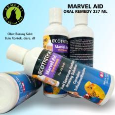 Marvel Aid Oral Remedy 237ml Ecotrition Obat Burung Sakit Rontok Bulu Kantuk  Nafsu Makan