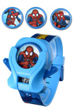 Ulasan Mengenai Marvel Spiderman Digital Slingshot Jam Tangan Anak Biru Strap Rubber Asmsq8117