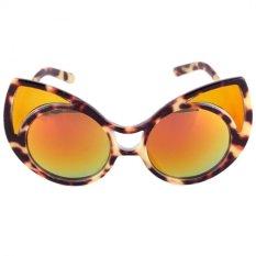 Harga Mata Kucing Kacamata Hitam Fashion Wanita Kacamata Retro Gaya Kepribadian B Oem