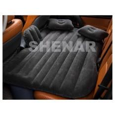 Matras mobil angin bahan bludru Tempat Tidur Mobil/Car Matras (BLACK) merk SHENAR