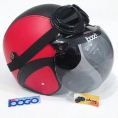 Matrix Helm Bogo Bonus Kacamata Retro