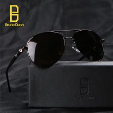 Jual Mb 209 Perancang Merek Sunglasses Pria Terpolarisasi 2017 Vintage Aviator Sun Kacamata Male Emas Frame Teh Lense Intl Satu Set