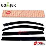 Spesifikasi Mcbc Talang Air Sun Visor Slim For Wuling Confero Impreza Solid Black Terbaik