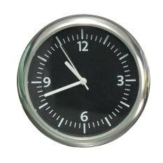 Mekanik Mobil Mini Otomatis Uhr Termometer Hygrometer Borduhr Kfz Penunjuk Jam 12 V Terbaru