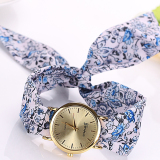 Dapatkan Segera Mega 2015 Hot Sale Fashion Casual Fabric Gelang Wanita Dress Jam Tangan No 3 Intl