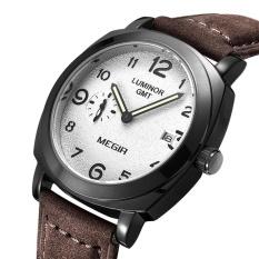 Promo Megir 1046 Male Japan Quartz Watch With Date Function Working Sub Dial Intl Murah