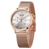 Promo Megir Merek Wanita Mewah Jam Tangan Fashion Quartz Ladies Watch Sport Relogio Feminino Clock Arloji Untuk Pecinta Teman Perempuan Ms2011L Intl Tiongkok