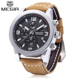 Spesifikasi Megir M2026 Men Quartz Watch Working Sub Dial Luminous Date Display Wristwatch Intl Megir