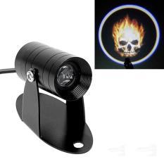 Mellius Lampu Belakang Motor 3D LED Projector Ghost Rider