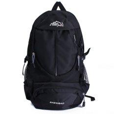 Pria 30L Outdoor Sport Ransel Unisex Travel Backpack tas Tas Desain Ransel Daypacks Tahan Lama Tahan Air Fashion hitam