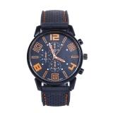 Beli Men Fashion Stainless Steel Sport Cool Quartz Hours Wrist Analog Watch Or Intl