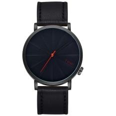 Harga Men S Perhatikan Besar Disc Desain Fashion Kasual Sabuk Watch T010 Hitam Dan Hitam Yang Murah Dan Bagus