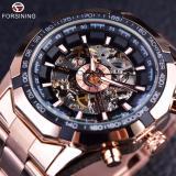 Beli Pria Watch Perancang Busana Transparan Case Top Brand Luxury Mekanik Otomatis Skeleton Watch Clock Men Rose Emas Di Tiongkok