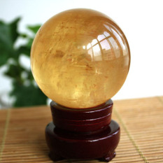 Beli Mendatangkan Keberuntungan Kuning Konsekrasi Alami Feng Shui Bola Baru