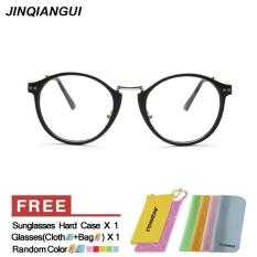 Spesifikasi Pria Eyewear Fashion Vintage Retro Kacamata Hitam Bingkai Kacamata Polos Untuk Miopia Pria Kacamata Optik Kacamata Oculos Femininos Gafas Intl Terbaru
