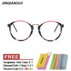 Toko Pria Eyewear Fashion Vintage Retro Kacamata Bingkai Warna Kacamata Polos Untuk Miopia Pria Kacamata Optik Kacamata Oculos Femininos Gafas Intl Hong Kong Sar Tiongkok