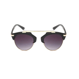 Men S Eyewear Sunglasses Men Oval Sun Glasses Black Color Brand Design Murah