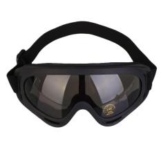 Jual Mens Oversized Sunglasses Matte Karet Hitam Polarized Motor Cycle Sport Hot Intl Branded Murah