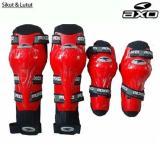 Promo Merah Axo Decker Deker Set Pelindung Lutut Siku Raptor Knee Protector Motor Touring Tour Biker Bike Axo