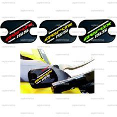 Merah Sticker Pad Stiker Tempel Emboss Yamaha Aerox 155 Brake Reservoir Pad Tutup Minyak Rem Aerox 155 Murah