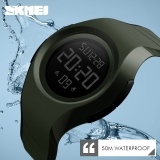 Iklan Skmei Merek Pria Pria Led Digital Militer Watch 50 M Dive Swim Dress Sport Watches Fashion Outdoor Tahan Air Jam Tangan 1269