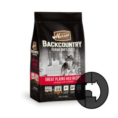 merrick backcountry raw infused 1.8 kg dog great plain red meat recipe with beef lamb and ra