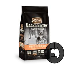merrick backcountry raw infused 1.8 kg dog pacific catch recipe with salmon whitefish and tr