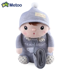 Promo Metoo Animal Design Boys Girls 3D Cute Sch**L Anti Lost Kids Kindergarten Bag Grey Intl Metoo