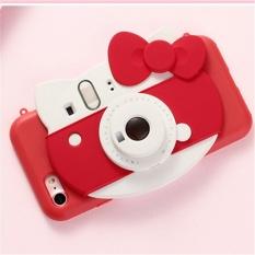 Mhstore (Warna: Merah Busur KT Kucing (Silikon Self-Perkakas Pengatur Waktu Lampu) dengan Kotak/Ukuran: iphone6 (4.7)),-Intl