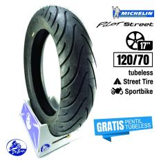 DR BAN Michelin Pilot Street 120/70 - 14 (GRATIS Cop Tubeless)