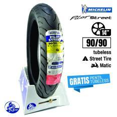DR BAN Michelin Pilot Street 90/90 - 14 (GRATIS Cop Tubeless)