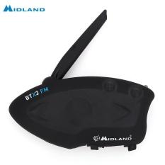 MIDLAND BTX2 FM Motor Antar Ponsel Bluetooth 3.0 Intercom 800 M Multi-user Antar Ponsel-Intl